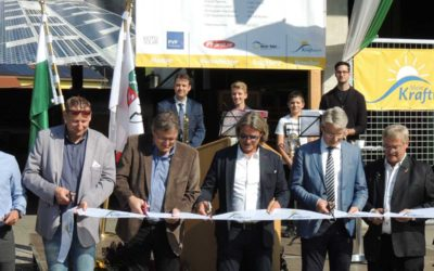 Eröffnung Sonnenkraftwerk ECO-Park Wernersdorf