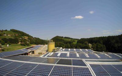 Fertigstellung des Sonnenkraftwerks Wernersdorf