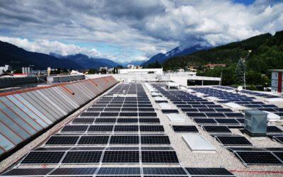 Einkaufszentrum KULMAX in Spittal an der Drau mit sauberer Sonnenenergie versorgt